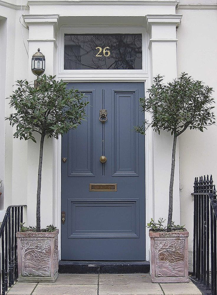steel entry door paint Awesome 123 best Front Doors images on Pinterest